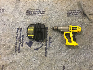 Dewalt hammer drill and charger for 80$