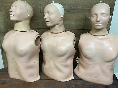 Laerdal Little Anne Cpr Adult Training Manikin Ems First Aid Trainer Lot Of 3