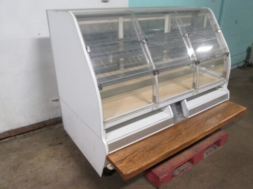 """""""STRUCTURAL CONCEPTS"""" HD COMMERCIAL 59""""W LIGHTED BAKERY/BAGEL/DONUT DISPLAY CASE"""