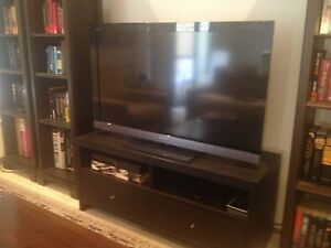 """TV Entertainment Unit - Dark Wood - Sleek modern design - 46""""+ Canning Vale Canning Area Preview"""