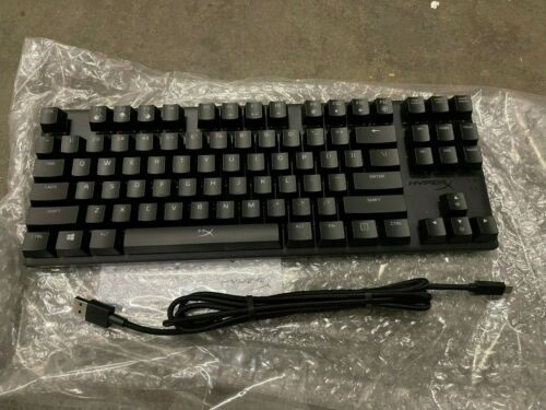 NB HyperX Alloy Origins Core RGB - HyperX Red Switch - TKL Mechanical Keyboard