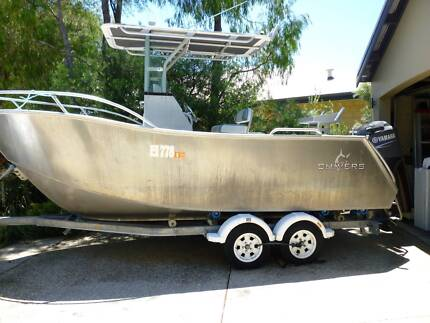 CHIVERS THRESHER FISHING BOAT 5.8M CENTRE CONSOLE  quintrex