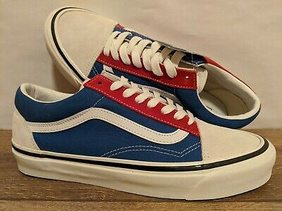 Vans New Old Skool 36 DX Anaheim Factory OG White Men Size USA 9 UK 8.5 EUR 42