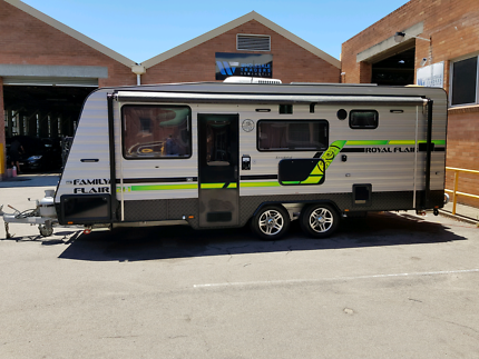 2015 royal flair family flair triple bunk  Broadmeadow Newcastle Area Preview