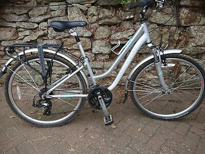 raleigh voyager glx ladies, small, silver, excellent condition