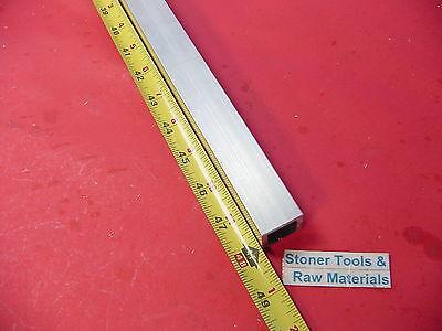 1x 1x 18 Wall X 48 Long Aluminum Square Tube 6063 T52 1 Sq X .125 W New