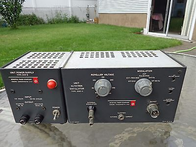 Vintage General Radio Company Unit Klystron Oscillator Type 1220-a Power Unit