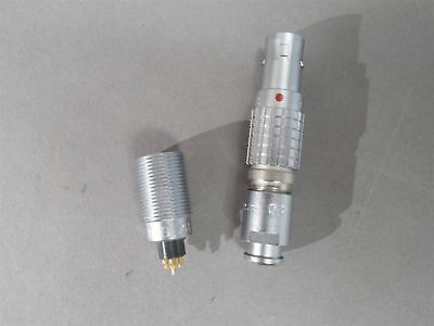 Lemo Connector Mated Pair Ecg.0b.307 Receptacle Fgg.0b.307 Plug 7-wire
