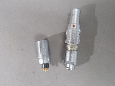 Lemo Connector Mated Pair Ecg.0b.307 Receptacle Fgg.0b.307 Plug 7-wire
