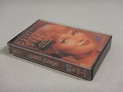 Patti Page Her Greatest Hits And Best Performances 1991 Cassette Tape 3
