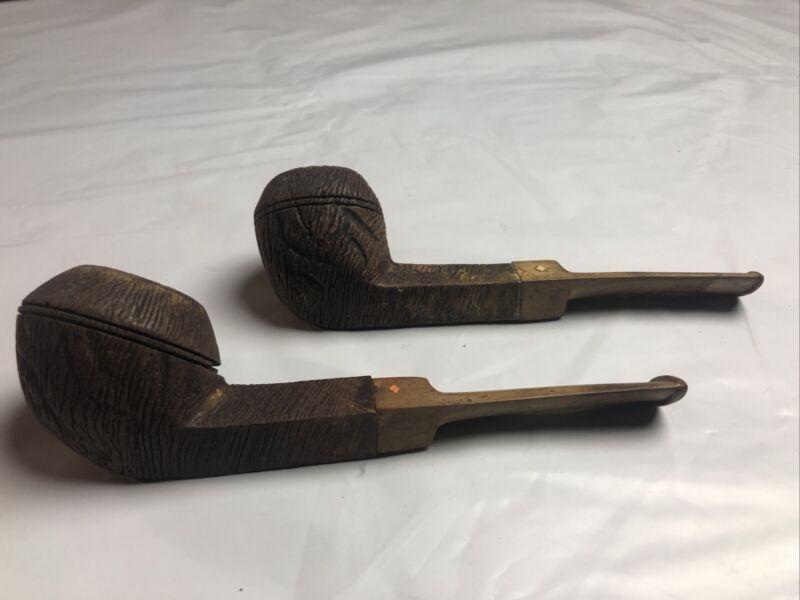 Vintage Dr. Grabow Viscount & Westbrook Bowl Rough Briar Pipe