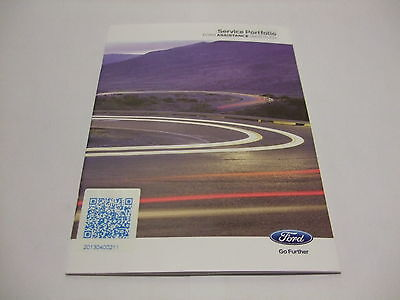 GENUINE FORD SERVICE BOOK KA FIESTA FOCUS MONDEO B-MAX C-MAX S-MAX GALAXY CG2147