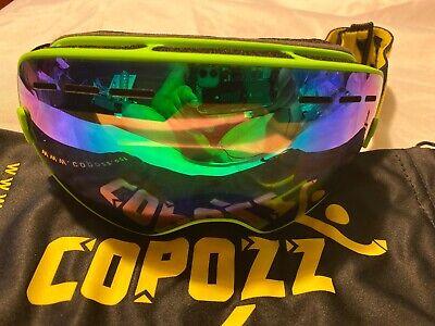 Copozz Ski Goggles, G1 Otg Snowboard Snow Goggles For Men, Women, and Youth