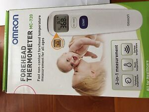 Forehead thermometer non-contact OMRON mc-720 Lalor Whittlesea Area Preview