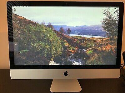 Apple iMac 27 inch late 2013 Perfect Condition 32GB RAM 3TB Fusion Drive Core i7