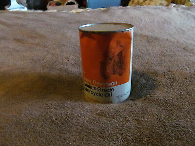 Fabulous Unopened Vintage Harley-Davidson Motorcycle Oil Can - Must See!!!!!!