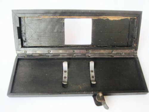 Vintage Stereo Wooden Printing Transposing  Frame for Stereo Glass Plates