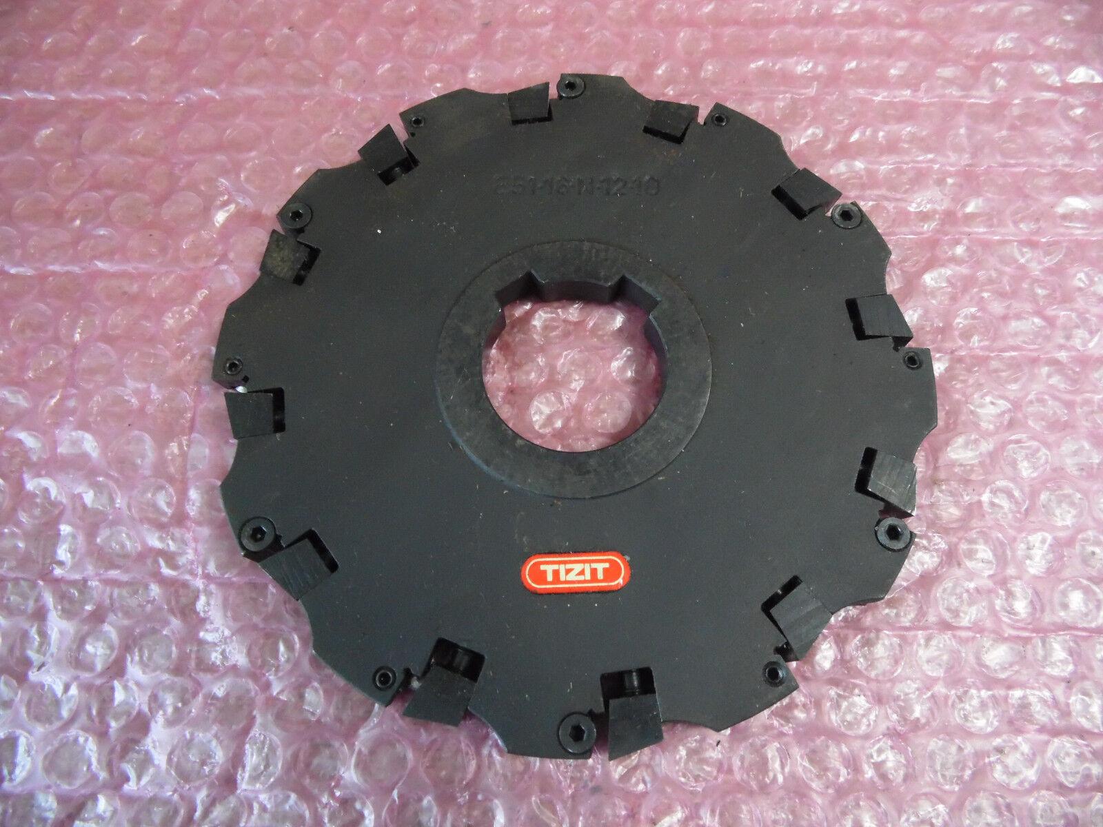 TIZIT Plansee E51-16-M-12-10 Scheibenfräser, Bohrung 40mm, D 158mm unbenutzt