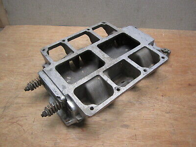 Vintage Weiand 6-71 Blower 8-71 Supercharger Intake Manifold Small Block Chevy