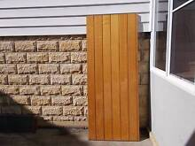 Doors- Ship-lap Tasi Oak clear varnished finish Mona Vale Pittwater Area Preview