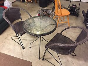 Two person patio set