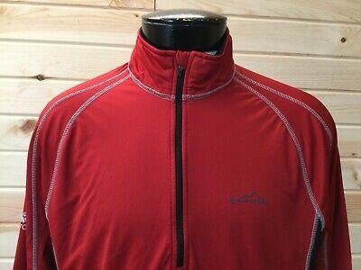 Eddie Bauer Coca Cola Coke Zero Mens L Pullover Fleece Lined Jacket