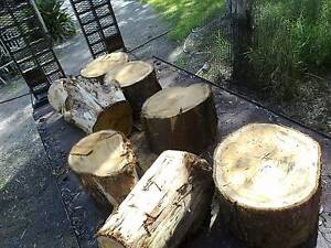 redgum log sections suit garden Capalaba Brisbane South East Preview