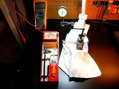 Starrett Dial Test Indicator 196b1 .001in Lufkin Miti-mite Magnetic Base