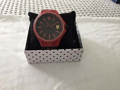 SCUDERIA FERRARI gents/lads sports quartz watch