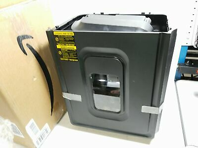 8-sheet High-security Micro-cut Shredder With Pullout Basket Used