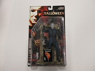 1999 MCFARLANE MOVIE MANIACS HALLOWEEN MICHAEL MYERS FIGURE SEALED W/ PUMPKIN+++