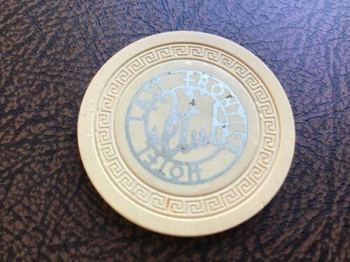 Last Frontier Hotel and Casino 21 Club, Las Vegas, NV $100 casino chip