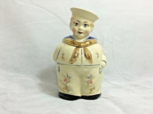 SHAWNEE POTTERY ~RARE~ Vintage Sailor Boy Cookie Jar 1942-1961