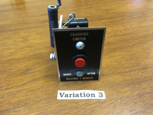 Cummins Onan Crank Cranking Limiter # 10-1015-6 Verified and Tested Variation 3