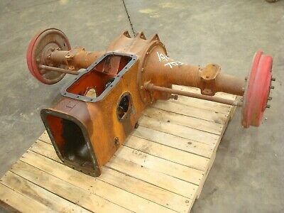 1955 Ferguson To-35 Gas Tractor Rearend Differential Assembly