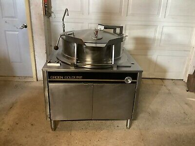 Groen Tilting Jacketed Kettle Automatic Tilt 40 Gal 120 Volts 1 Phase Tested