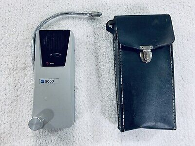 Tif 5000 Automatic Freon-halogen Leak Detector With Carrying Case