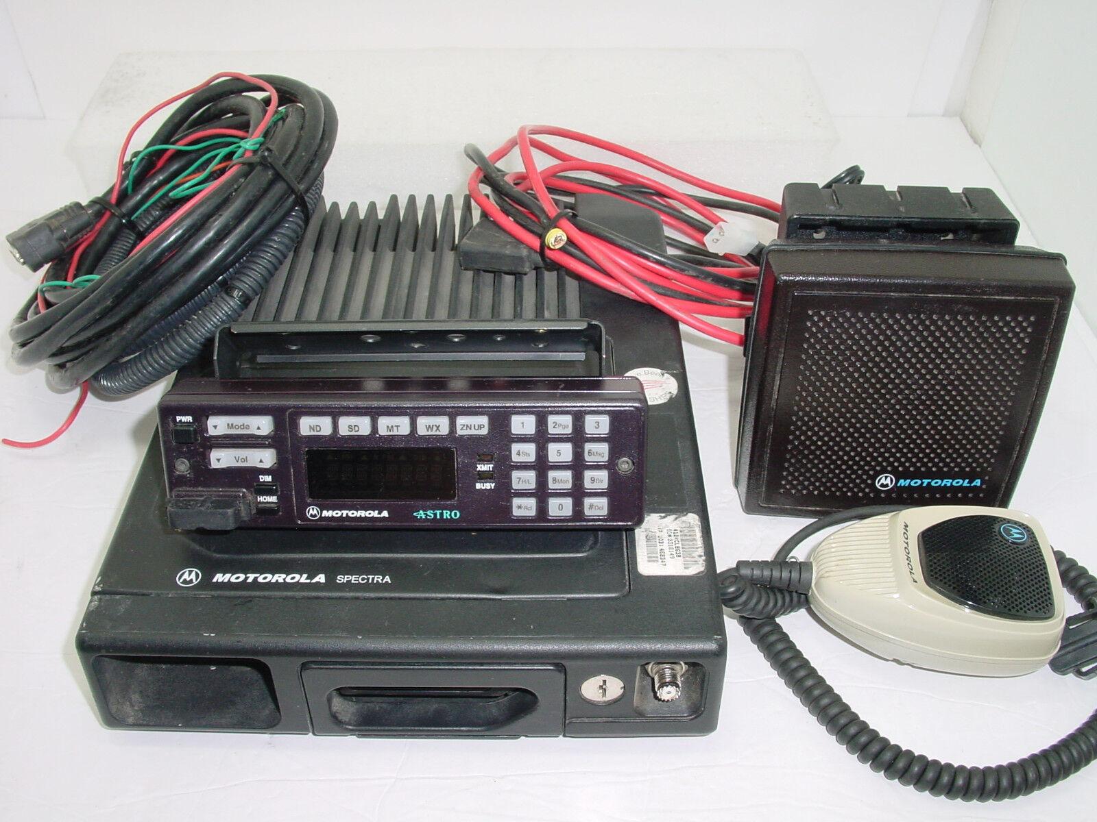 Motorola Astro Spectra VHF 50-110w 255CH 146-174 MHz W7 T04KLH9PW7AN T99DX+093W. Buy it now for 183.96