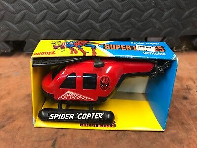 1981 Buddy L Spider Copter Super Hero's Vehicle New in Box