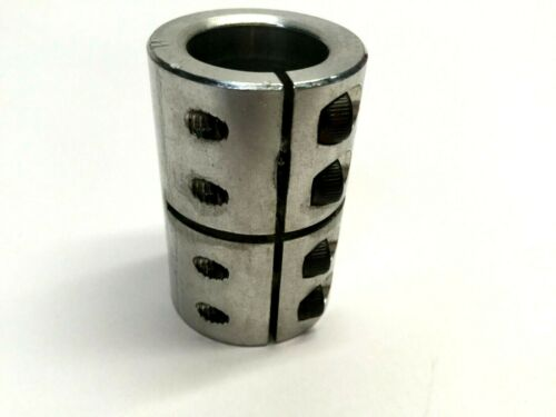 Ruland 1/2X1/2 One Piece Coupling, Stainless Steel