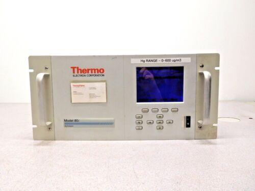 MO-2465, THERMO ELECTRON 80I HG MERCURY ANALYZER 80I-ADFNCB