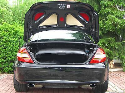 Mercedes SLK R 170 / 171 / 172 Kofferraum Deckel Einlagen Verkleidung Heckklappe