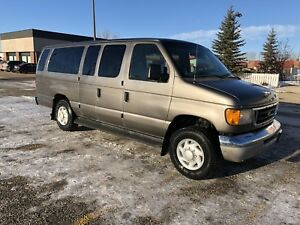 2003 E-350 Van. Winter tires on rims included!
