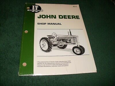 John Deere Tractor Shop Manual Jd-4 Models Abghdmmt