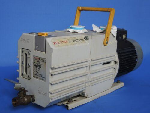 Pfeiffer DUO 10 Rotary Vane Pump PK D62 115 B
