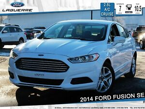 2014 Ford Fusion SE**BLUETOOTH*CRUISE*A/C* GR. ÉLECTRIQUE**