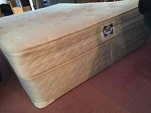 Sealy double mattress and boxspring