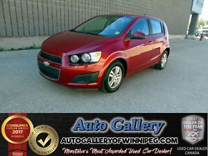 2012 Chevrolet Sonic LS *Low Kms!