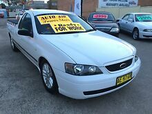 2005 Ford Falcon BA MKII XL UTE AUTO IMMACULATE READY 4 WORK Clyde Parramatta Area Preview