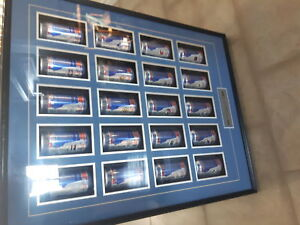 Labatts NHL  Framed Can Collection